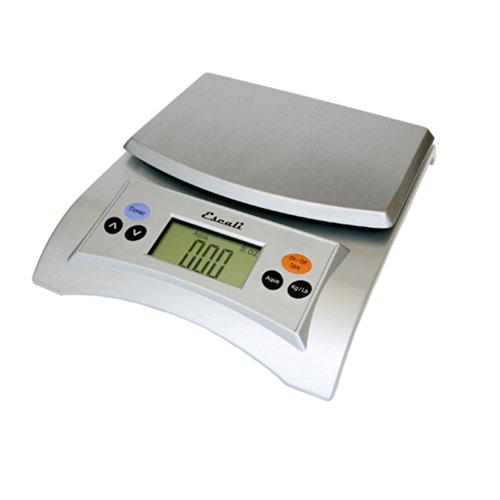 Aqua Kitchen Scale (Escali A115S Aqua Digital Scale Liquid Measuring Scale 11 Lb / 5 Kg, Silver Grey)