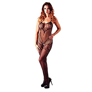 1e5b3917778 Mandy Mystery lingerie Small Large Lace Catsuit  Amazon.co.uk  Health    Personal Care
