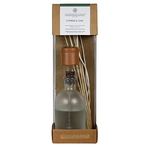 Chesapeake Bay Candle Heritage Collection Reed Diffuser, Cypress & Oak