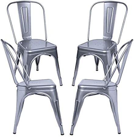 Regalos Miguel - Packs Sillas Comedor - Pack 4 Sillas Torix - Gris ...