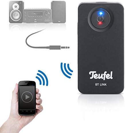 Teufel Bt Link Bluetooth Adapter Schwarz Elektronik