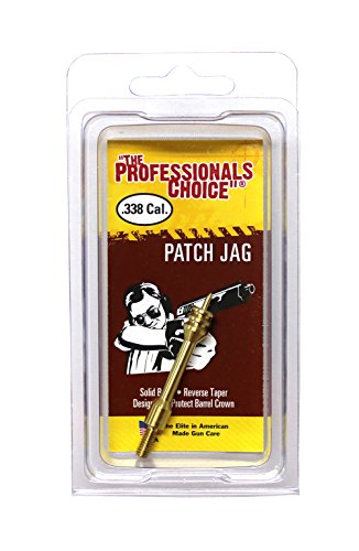 The Professional's Choice Brass Patch Jag.338 Caliber