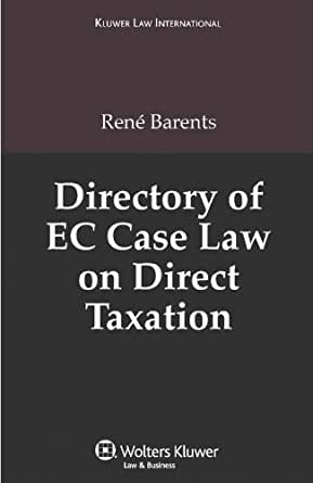 taxation law case Federal income tax federal tax resources this helpful volume features definitions of tax terms, words, and phrases commonly used in tax law federal income tax cases originate in the us tax court, the us court of federal claims.