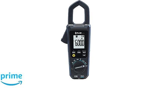 FLIR CM72-NIST - Medidor de abrazadera AC comercial (600 A): Amazon.es: Amazon.es