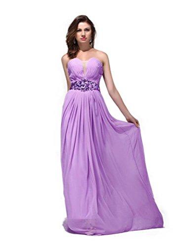 Hot Queen Damen ALinie Kleid Violett Violett Li18a0OU - cocoon.die ...