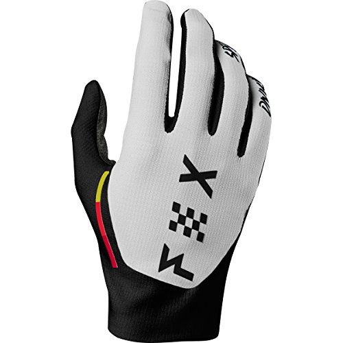Fox Racing Flexair Rodka LE Men's MX Motorcycle Gloves - Light Grey/Large
