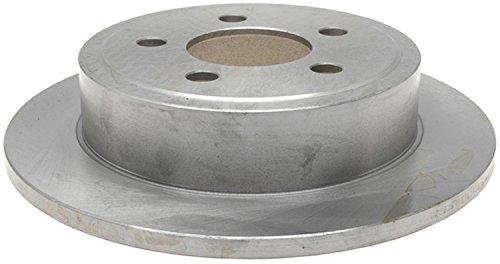 (ACDelco 18A1336A Advantage Non-Coated Rear Disc Brake Rotor)