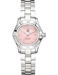 TAG Heuer Womens WAF141H.BA0813 Aquaracer 2000 Diamond Accented Watch
