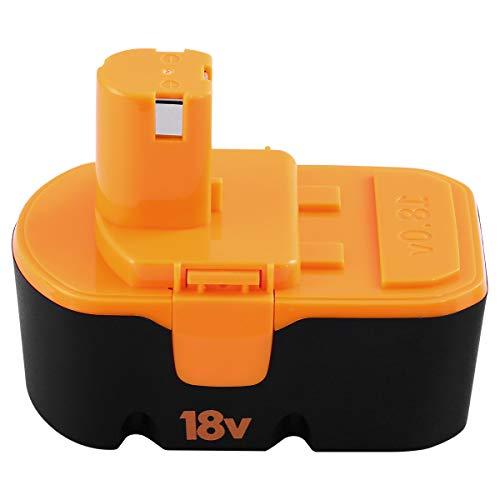 (18V 3600mAh High Capacity Ni-Mh Replacement for Ryobi 18V Battery ONE+ P100 P101 ABP1801 ABP1803 BPP1820 Cordless Power Tools)