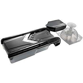 Amazon Com Simposh Easy V Mandolin Slice Black Kitchen