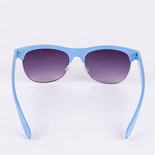 Browline Unies Soleil Turquoise Lunettes De wZPqEv