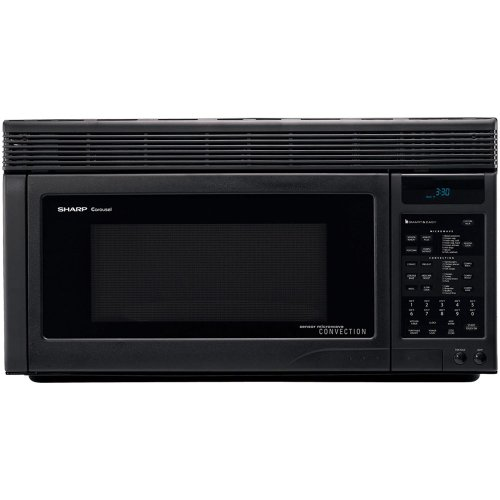 Sharp R1875T 850W Over-the-Range Convection Microwave, 1.1 Cubic Feet, Black