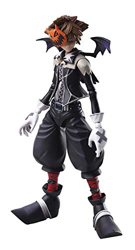 Square Enix AUG188272 Kingdom Hearts II: Bring Arts Sora (Halloween Town Version) Action Figure, Multicolor]()