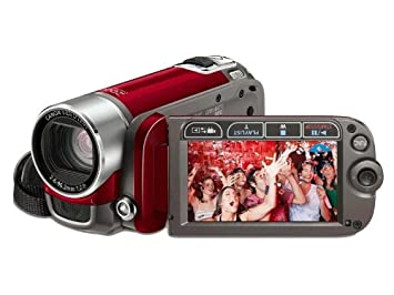 canon fs200 camcorder red amazon co uk camera photo rh amazon co uk canon legria fs200 software mac canon legria fs200 software mac