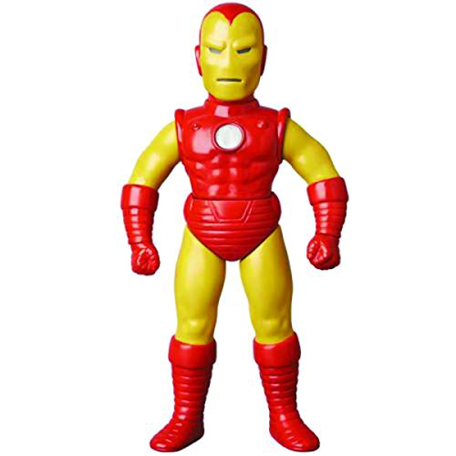 Medicom Marvel Retro Iron Man Sofubi Action Figure