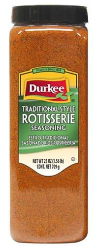 Durkee Rotisserie Seasoning Traditional Style, 25-Ounce