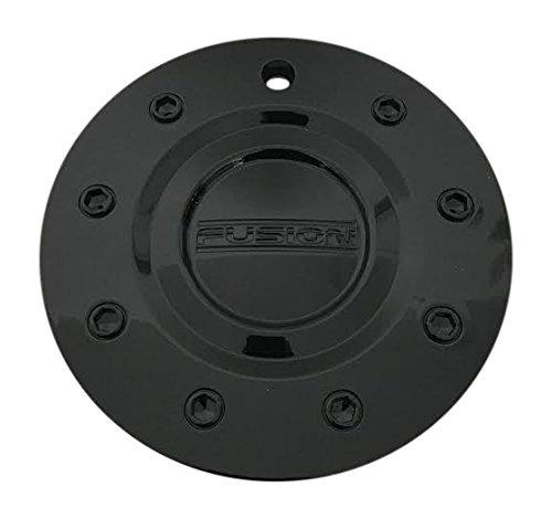 FUSION BRANDS Fusion Wheels CAP-EE920-2295-3 Gloss Black Center Cap