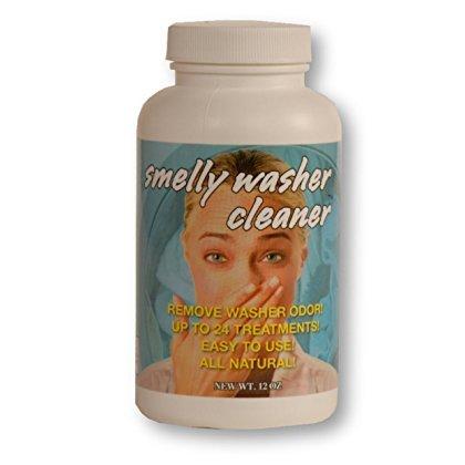 Smelly Washer Inc. Washing Machine Cleaner, 48 Treatments (2 - 12 oz. Bottles)