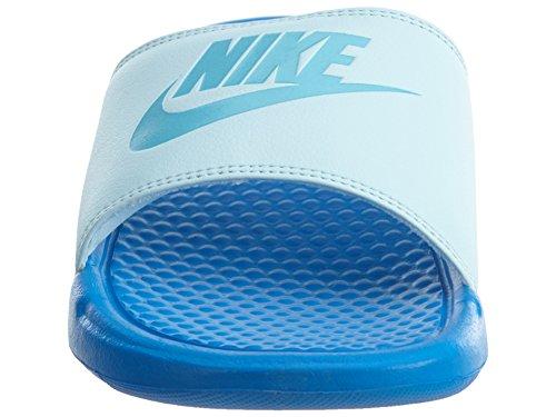 Nike Kvinders Benassi Jdi Sandal Blå Gletsjer Blå Klor Blu Ot9Dl