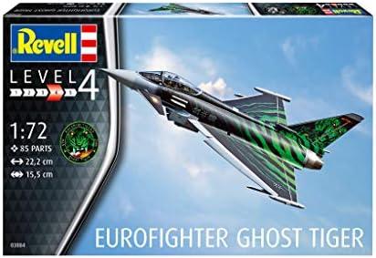 Revell-Eurofighter Ghost Tiger, Escala 1:72 Kit de Modelos de plástico, Multicolor, 1/72 03884 3884: Amazon.es: Juguetes y juegos