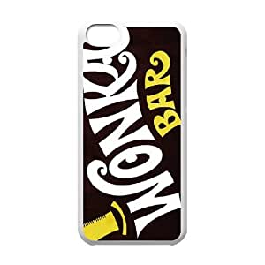 Willy Wonka Golden Ticket Chocolate Bar For White Cell Phone Case Ipod 6 Case Cover W13W7030197