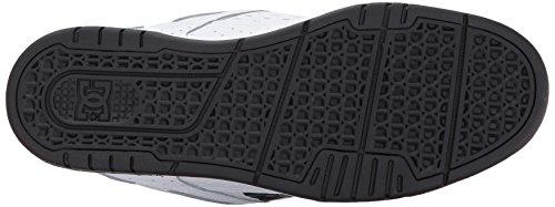 cuero D0320188 DC Zapatillas STAG Blanco de Negro para Shoes hombre UPwqpRXAx