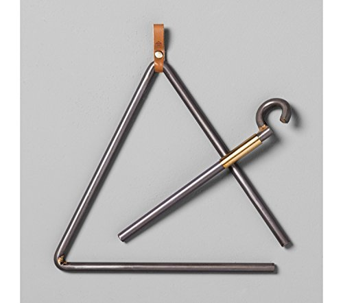 Hearth and Hand with Magnolia Triangle Dinner Bell Joanna Gaines Collection Limited Edition ()