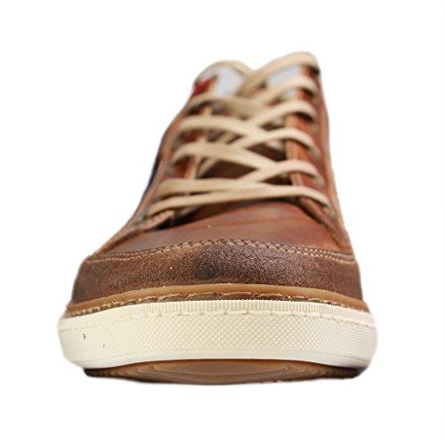 Mustang 4893-301 Herren Sneakers Braun(Kastanie)