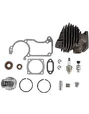 Carburateur, 44mm Cilinder Oliekeerringen Vonken Plug Pakking Kit Fit voor Stihl 026 MS260 MS260C 026PRO Kettingzaag Wieden Machine Accessoires
