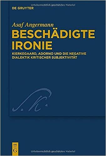 Google-kirjojen lataaminen tietokoneeseen Beschadigte Ironie: Kierkegaard, Adorno Und Die Negative Dialektik Kritischer Subjektivitat (Kierkegaard Studies. Monograph) (German Edition) RTF