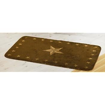 HiEnd Accents Western Star Kitchen And Bath Rug