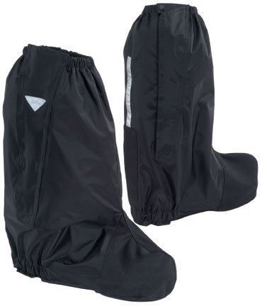 Tour Master Deluxe Adult Street Motorcycle Boot Rain Covers - Black/X-Small ()