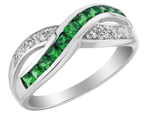 0.5 Ct Emerald Ring - 3