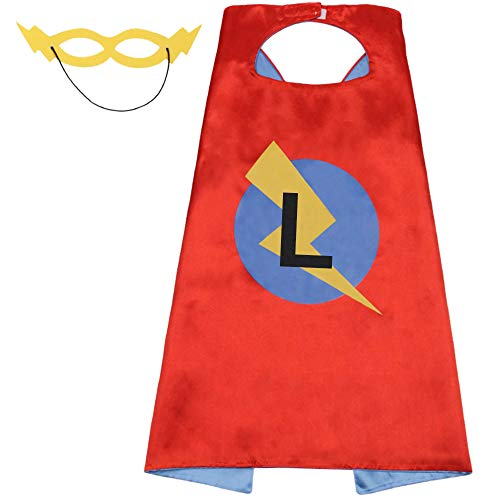 Cape Kids Superhero Capes Toddler Super Hero Mask,Costumes for Boys Dress Up