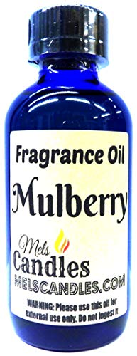 (Mulberry - 4oz / 118ml Blue Glass Bottle of Essential Oil Blend/Premium Grade A Fragrance Oil, Skin Safe Oil, Use in Candles, Soap, Lotions, Etc)