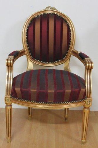 LouisXV Barroco rococó fauteuille silla MoCh0067 estilo ...