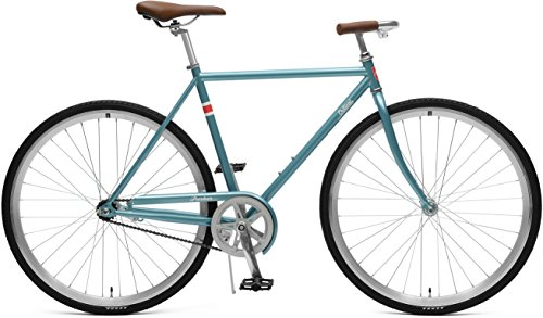 Retrospec Critical Cycles Parker City Bike with Coaster Brake, Ice Blue, 49cm/Small