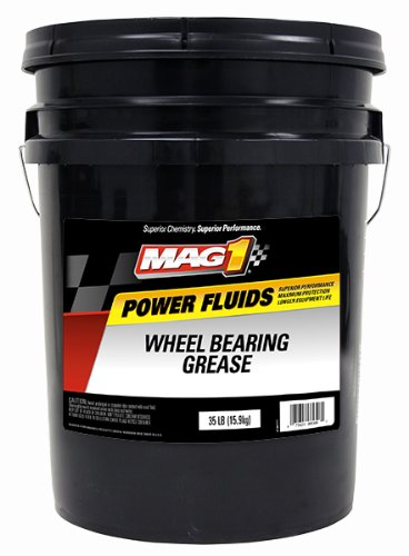 Mag 1 (725) Red High-Temperature Wheel Bearing Grease - 5 Gallon Pail by Mag 1
