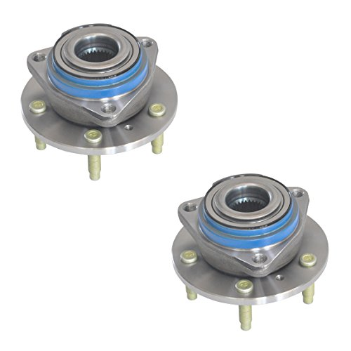 Buick Axle Century Assembly - Brand New DRIVESTAR 513160X2 Pair:2 NEW FRONT Wheel Hub & Bearing Assembly for Buick Chevy Pontiac w/o ABS