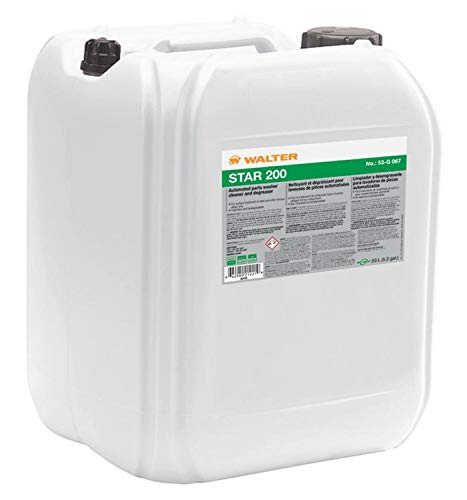 Walter Bio-Circle 53G067 STAR 200 Concentrated Alkaline Cleaner - 20L,  Biodegradable Degreaser, VOC Free  Chemical Cleaners