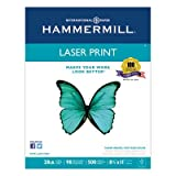Laser Print Office Paper, 98 Brightness, 28lb, 8-1/2 x 11, White, 500 Shts/Ream, Sold as 1 Ream, 500 per Ream