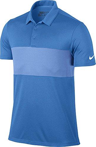 Nike Breathe Color Block Golf Polo  - Logo Golf Shirt