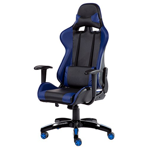 417LOFbPeCL - Giantex High Back Racing Style Gaming Chair Reclining Office Executive Task Computer