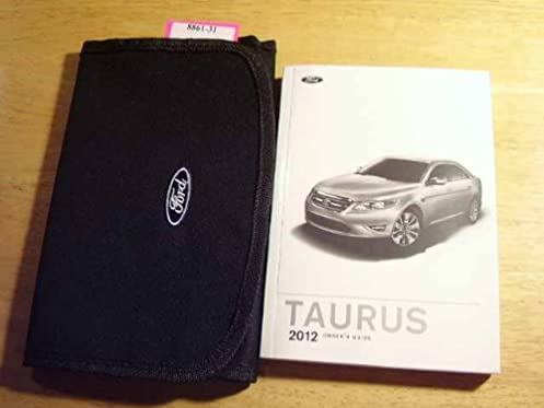 amazon com 2012 taurus canadian owner manual paper ford books rh amazon com Ford Truck Owners Manual Ford F-150 Owner's Manual