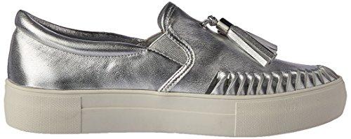 J Glider Jslides Kvinders Aztec Mode Sneaker Sølv Opfyldt. N83wNEnr