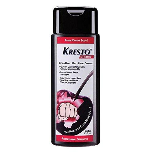 Deb Group Kresto Cherry Hand Cleaner, 2000 mL Soft Bottle (5 Pack)