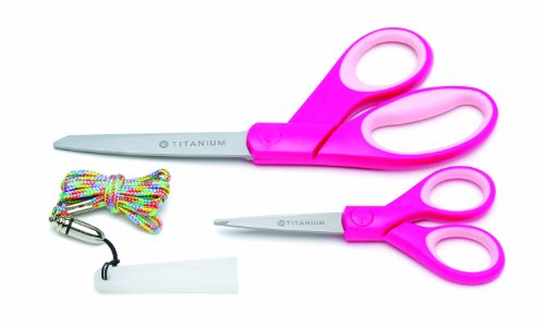 Westcott 2 Pack Titanium Pointed Scissors product image