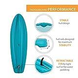 Lifetime Horizon 100 Hardshell Stand-Up Paddleboard