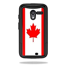 Mightyskins Protective Skin Decal Cover for OtterBox Commuter Motorola Moto X Case wrap sticker skins Canadian Flag