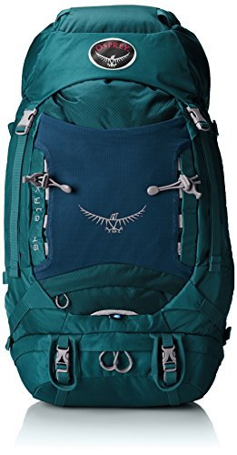 Osprey Womens Kyte 46 Backpack Teal Blue X-SmallSmall